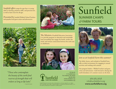 Sunfield Farm Brochure 2013